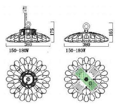 UFO high bay lights 20