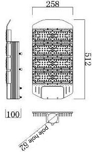 Modular LED Street Light 49